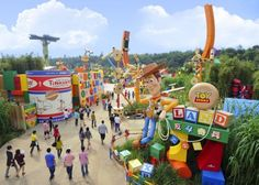 Toy Story Playland in Disneyland Hong Kong