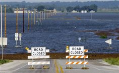 Missouri River flood 2011.