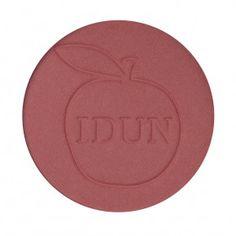 IDUN Minerals blush HALLON  - A rose-pink blush that brightens up your face.  #blush #idunminerals #mineralmakeup #rouge