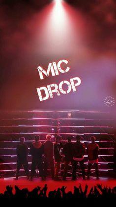 mic drop | wallpaper