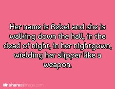 This could be my Belizerbaijan story that I have yet to start. There's one character who could probably have the name Rebel.