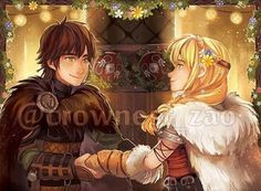 Hiccup and Astrid wedding