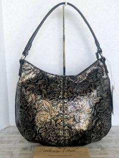 da246dc06b2f Patricia Nash Bello Hobo Bag Tri-Metallic Leather  299