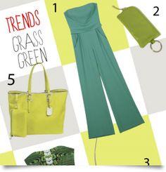 Grass green!