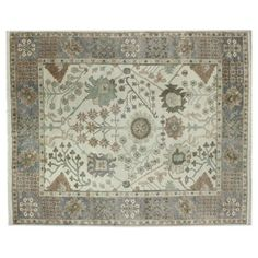 Check out this item at One Kings Lane! 8'x10' Saer Rug, Ivory