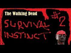 The walking dead (Survival instinct) Survival Instinct, The Walking Dead, Neon Signs, Youtube, Movie Posters, Film Poster, Popcorn Posters, Billboard, Film Posters