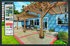 Pergola Planner Software helps you easily design and build a stronger pergola or other popular structure in your outdoor living space journey.
