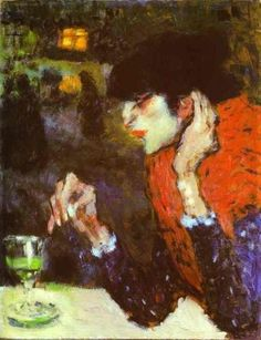 """""""the absinthe drinker"""" 