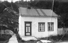 Sæther-huset i Vika ca. 1915 by Espen Sandmo, via Flickr