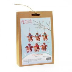 DIY craft kit which creates gingerbread couples. Great for people who enjoy being creative. Craft Kits, Diy Kits, Craft Projects, Fun Crafts, Crafts For Kids, Christmas Crafts, Christmas Decorations, Xmas Gifts, Homemade Gifts