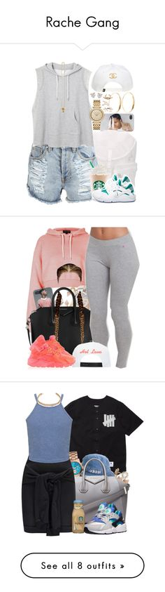 """""""Rache Gang"""" by oh-aurora ❤ liked on Polyvore"""