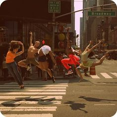 broadway dancers