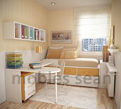 Beautiful Very Small Bedroom Design Ideas With Thoughtful Small Teen Room Decor Ideas For Some Decorating Ideas Small Bedroom Ideas On A Budget, Very Small Bedroom, Small Bedroom Designs, Small Room Design, Budget Bedroom, Small Room Bedroom, Trendy Bedroom, Girls Bedroom, Bedroom Decor