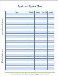 Blank Sign Out Sheet | Employee-Sign-in-and-Sign-Out-Sheet.jpg