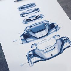 Porsche sketches by Oscar Johansson   Car Interior Design, Automotive Design, Exterior Design, Id Design, Auto Design, Car Design Sketch, Sketch Markers, Hand Sketch, Abandoned Cars