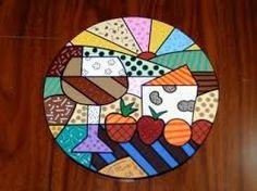 Tabla de quesos Britto: Decoupage, Mosaic Vase, Funky Painted Furniture, Table Bar, Arte Country, Stick Art, Mosaic Pieces, Mosaic Crafts, Arte Pop