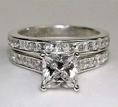 Engagement Ring Enhancer Wedding Band 38