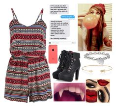 """""""Oorn//Scarlet"""" by dare2benerdy ❤ liked on Polyvore featuring art"""