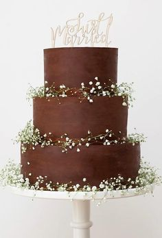 33 Elegantly Colored Wedding Cakes ❤ colored wedding cakes chocolate cake the little cake colorful wedding cakes 33 Elegantly Colored Wedding Cakes Fall Wedding Cakes, Beautiful Wedding Cakes, Wedding Cake Designs, Beautiful Cakes, Amazing Cakes, Wedding Themes, Wedding Decorations, Cake Picks, Cake Trends