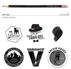 assorted logos / THE MADE SHOP