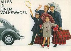 Publicidad VW Década 1960