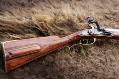 Custom made flintlock rifle