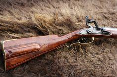Custom made flintlock rifle