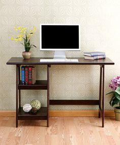 Look at this #zulilyfind! Espresso Langston Desk by Southern Enterprises #zulilyfinds