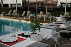 The Brasil suites is a luxury hotel situated just a few meters from Glyfada's center & very close to Athens center.It stands out among Athens Glyfada hotels Hotel Pool, Athens, Greece, Luxury, City, Outdoor Decor, Home Decor, Greece Country, Decoration Home