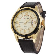 CURREN Mens Watch SS8127B - Gold Black Last Day to Buy a Curren Men's Watch. From R191. #watches #Sale #Lastday #zasttra