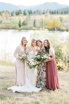A Chic Fall Ranch Wedding in the Colorado Mountains via Magnolia Rouge