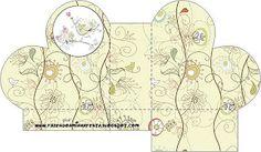 Jardim Encantado Vintage- Kit Completo com molduras para convites, rótulos para guloseimas, lembrancinhas e imagens!