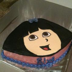Dora cake by Cakes by Cathy