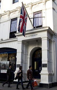 Gieves and Hawkes at No. 1 Savile Row, London