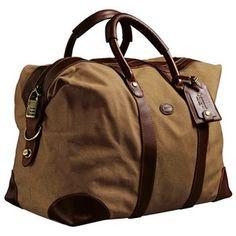 Cassino Bag, Leder-Canvas (braun) von Baron - Rucksäcke & Taschen - Accessoires für Herren - Jagdbekleidung Online Shop - Frankonia.de