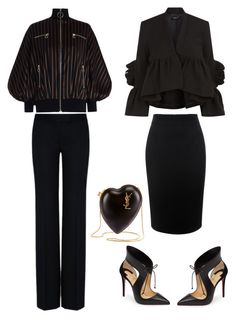 """Untitled #364"" by tam-west on Polyvore featuring Zimmermann, STELLA McCARTNEY, Rachel Comey, Alexander McQueen, Christian Louboutin and Yves Saint Laurent"