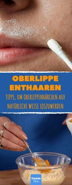 The home remedy for unwanted hair! Oberlippe enthaaren – ganz ohne Rasier… The home remedy for unwanted hair! Depilate upper lip – completely without razor - Laser Hair Therapy, Beauty Hacks Shaving, Shaving Tips, Electrolysis Hair Removal, Upper Lip Hair, Afro Hair Care, Hair Removal Machine, How To Grow Eyebrows, Beauty Secrets