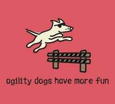 Agility Dogs Have More Fun T-Shirt
