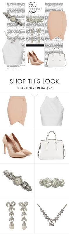 """""""Asymmetric Skirt"""" by ac-silver ❤ liked on Polyvore featuring Nicki Minaj, Boohoo, Alexander McQueen, French Connection and vintage"""