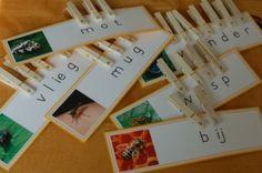 knijperwerkje insecten - MontessoriNet
