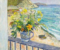 Ferdinand Finne (1910 – 1999): Markblomster Almunecar Edvard Munch, Ferdinand, Granada, Painters, Artsy, House, Image, Culture, Kunst