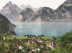 A good example of the picture that comes into my head when I think of Lucerne, Switzerland.