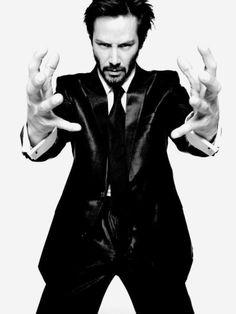Keanu Reeves by Tom Munro