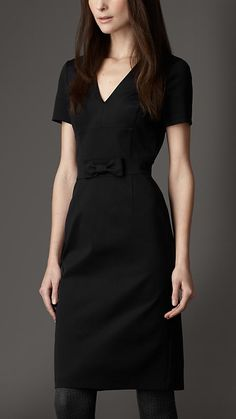 Burberry London Bow Detail Dress