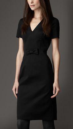 Burberry London Bow Detail Dress