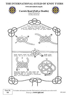 Carrick Bend and other knots: very useful!