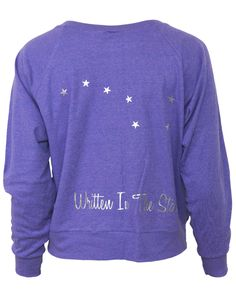 -written-in-the-stars-raglan-back...cute simple back!