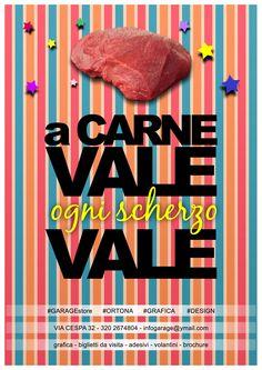 CARNEvale 2015 ogni scherzo vale #grafica #design #ortona