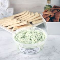 Brothers Products Garlic Spread Garlic & Basil