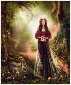 Annelise in the Faerie Realm by Ginger Kelly